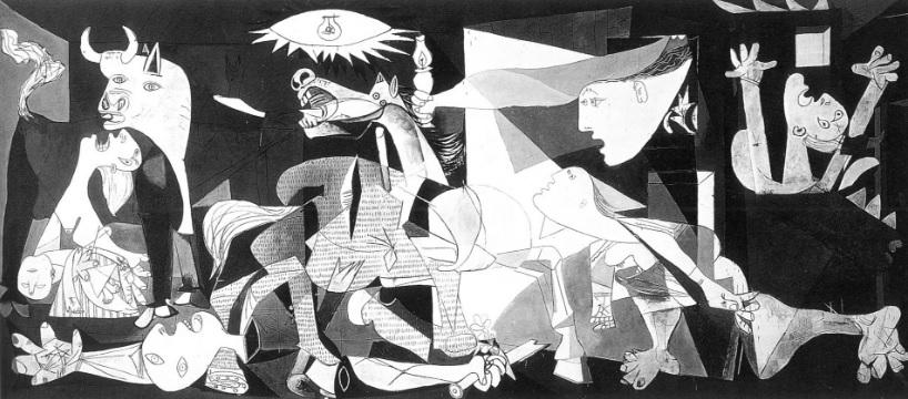 PICASSO, Pablo. Guernica. 1937. Óleo sobre tela