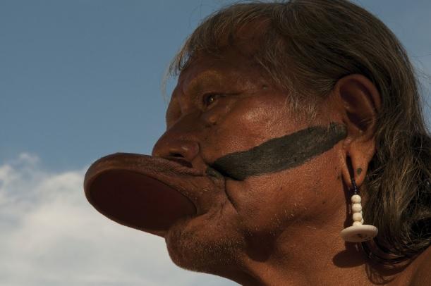 Os índios Xoklengue do estado do Paraná
