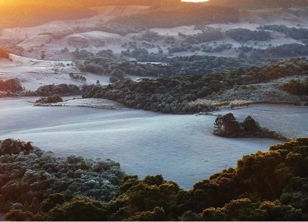 Guarapuava é umas das cidades mais frias do Paraná, devido à sua altitude