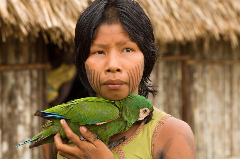 """Os Tupinambá também tinham animais domésticos, chamados de xerimbabos, que na língua tupi significa """"minha coisa querida"""""""